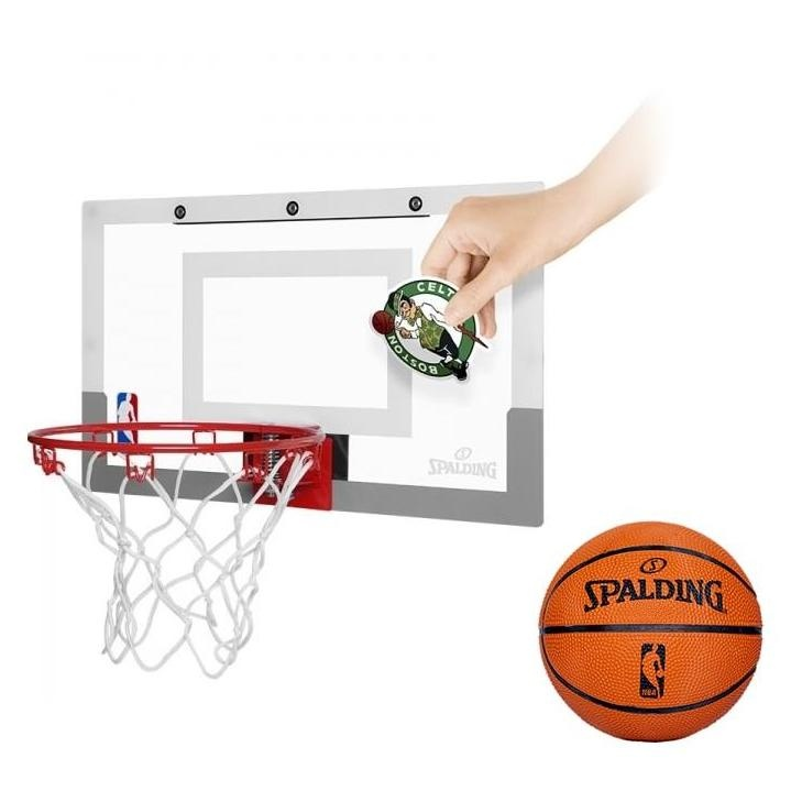 Mini panier de basket nba slam jam board autocollants for Panier de basket chambre